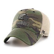 '47 Men's Cleveland Browns Camo Branson MVP Adjustable Hat