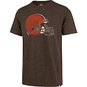 '47 Men's Cleveland Browns Scrum Logo Brown T-Shirt