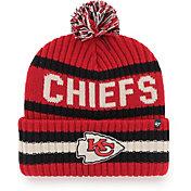 '47 Men's Kansas City Chiefs Bering Red Cuffed Knit Hat