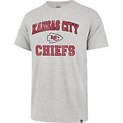 '47 Men's Kansas City Chiefs Arch Franklin Grey T-Shirt