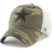 '47 Men's Dallas Cowboys Camo Branson MVP Adjustable Hat