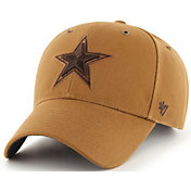 '47 x Carhartt Men's Dallas Cowboys Tonal Brown MVP Adjustable Hat