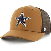 '47 x Carhartt Men's Dallas Cowboys Brown Mesh MVP Adjustable Hat