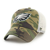 '47 Men's Philadelphia Eagles Camo Branson MVP Adjustable Hat