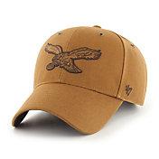 '47 x Carhartt Men's Philadelphia Eagles Tonal Brown MVP Adjustable Hat