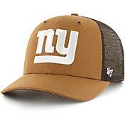 '47 x Carhartt Men's New York Giants Brown Mesh MVP Adjustable Hat