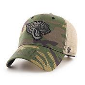 '47 Men's Jacksonville Jaguars Camo Branson MVP Adjustable Hat