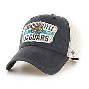 '47 Men's Jacksonville Jaguars Black Crawford Clean Up Adjustable Hat