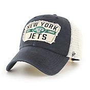 '47 Men's New York Jets Vintage Black Clean Up Adjustable Hat