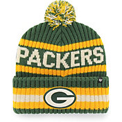 '47 Men's Green Bay Packers Bering Green Cuffed Knit Hat