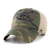 '47 Men's Green Bay Packers Camo Branson MVP Adjustable Hat