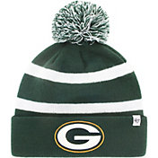 '47 Men's Green Bay Packers Breakaway Green Cuffed Knit Hat