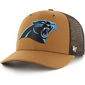 '47 x Carhartt Men's Carolina Panthers Brown Mesh MVP Adjustable Hat