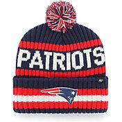 '47 Men's New England Patriots Bering Navy Cuffed Knit Hat