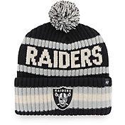 '47 Men's Las Vegas Raiders Bering Black Cuffed Knit Hat