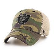 '47 Men's Las Vegas Raiders Camo Branson MVP Adjustable Hat