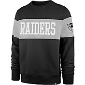 '47 Men's Las Vegas Raiders Interstate Crew Throwback Sweatshirt