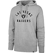 '47 Men's Las Vegas Raiders Arch Headline Grey Hoodie