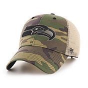 '47 Men's Seattle Seahawks Camo Branson MVP Adjustable Hat