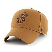 '47 x Carhartt Men's New Orleans Saints Tonal Brown MVP Adjustable Hat