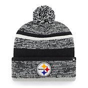 '47 Men's Pittsburgh Steelers Northward Cuffed Black Knit Beanie
