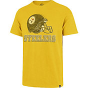 '47 Men's Pittsburgh Steelers Scrum Logo Gold T-Shirt