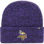 '47 Men's Minnesota Vikings Brainfreeze Purple Cuffed Knit