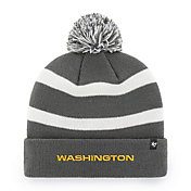 '47 Men's Washington Football Team Breakaway Cuffed Charcoal Knit Beanie