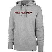 47 Men's Washington Football Team Headline Wordmark Grey Hoodie