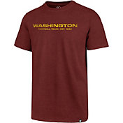 47 Men's Washington Football Team Club Wordmark Red T-Shirt