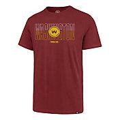 '47 Men's Washington Football Team Rival Wordmark Red T-Shirt