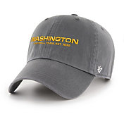 '47 Men's Washington Football Team Established 1932 Cleanup Charcoal Adjustable Hat