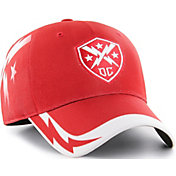 '47 Men's XFL DC Defenders Sideline Solo Red Stretch Fit Hat