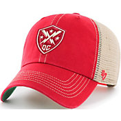 '47 Men's XFL DC Defenders Clean Up Trawler Red Adjustable Hat