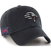 '47 Men's XFL New York Guardians Clean Up Black Adjustable Hat