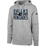 '47 Men's XFL Dallas Renegades Headline Grey Hoodie