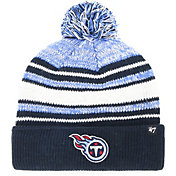 '47 Youth Tennessee Titans Bubbler Navy Knit Hat