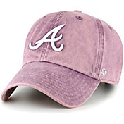 '47 Women's Atlanta Braves Purple Snow Cone Clean Up Adjustable Hat