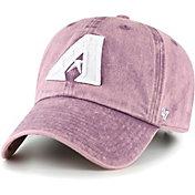 '47 Women's Arizona Diamondbacks Purple Snow Cone Clean Up Adjustable Hat