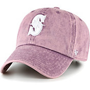 '47 Women's Seattle Mariners Purple Snow Cone Clean Up Adjustable Hat
