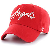 '47 Women's Los Angeles Angels Red Lyric Clean Up Adjustable Hat