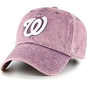 '47 Women's Washington Nationals Purple Snow Cone Clean Up Adjustable Hat