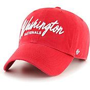 '47 Women's Washington Nationals Red Lyric Clean Up Adjustable Hat