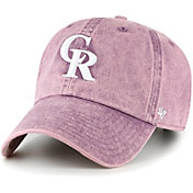 '47 Women's Colorado Rockies Purple Snow Cone Clean Up Adjustable Hat