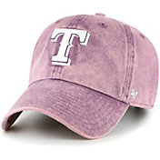 '47 Women's Texas Rangers Purple Snow Cone Clean Up Adjustable Hat