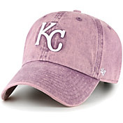 '47 Women's Kansas City Royals Purple Snow Cone Clean Up Adjustable Hat