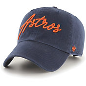 '47 Women's Houston Astros Navy Lyric Clean Up Adjustable Hat