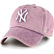 '47 Women's New York Yankees Purple Snow Cone Clean Up Adjustable Hat