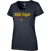 '47 Women's Denver Nuggets Navy T-Shirt