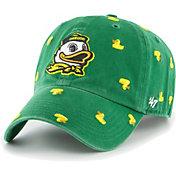 '47 Women's Oregon Ducks Green Confetti Adjustable Hat